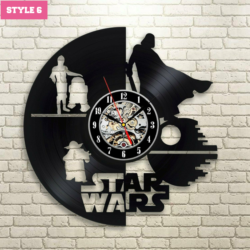 Star Wars Wall Clock (AD0011)