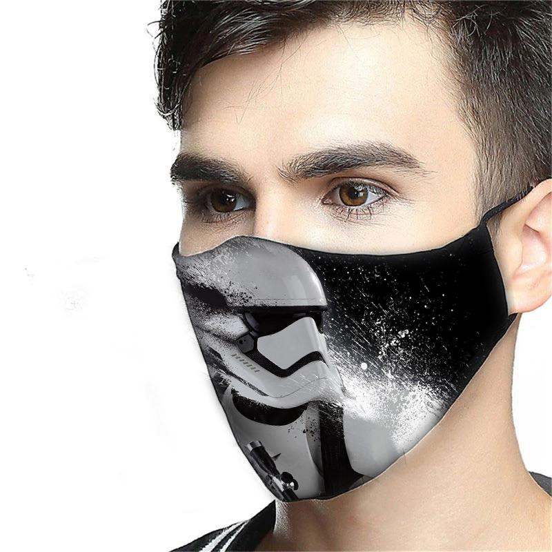 Darth Vader Fabric Mask