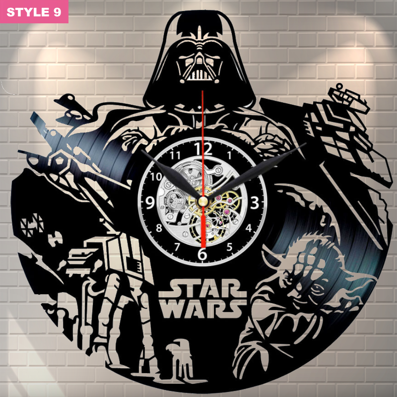 Star Wars Newest Wall Clock
