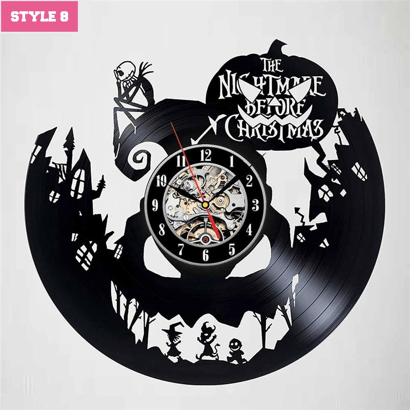 The Nightmare Before Christmas New Wall Clock