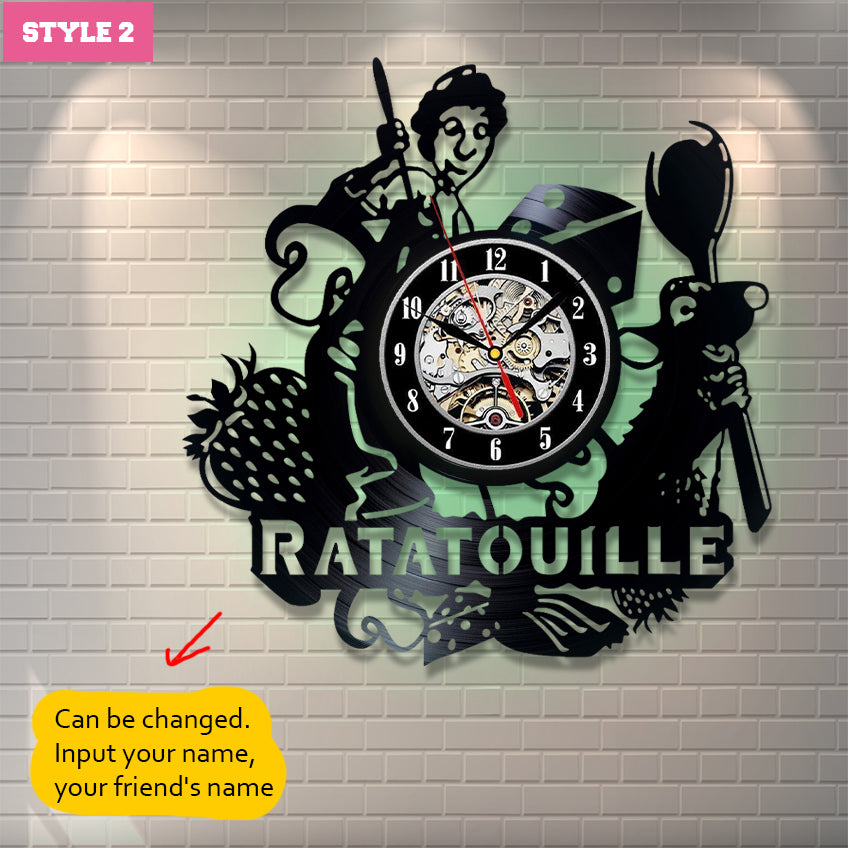 Ratatouille Custom Wall Clock