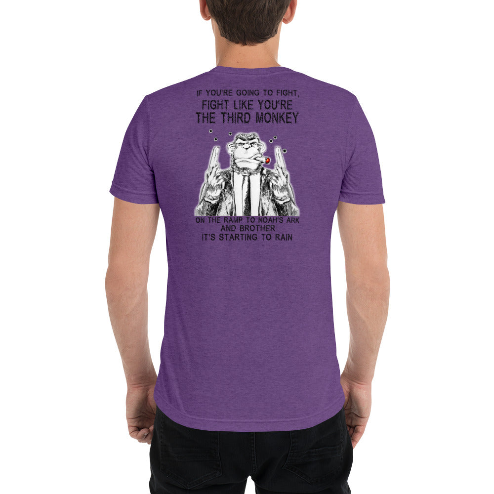 Fight Like A Monkey Premium Short sleeve t-shirt
