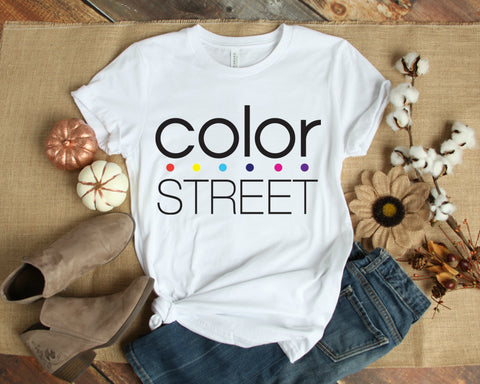 Color Street Short Sleeve T