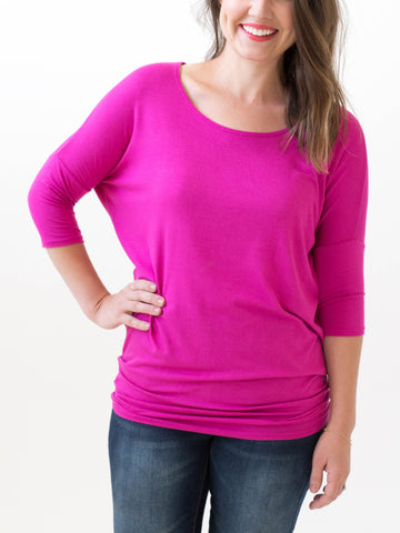 Hot Pink Dolman
