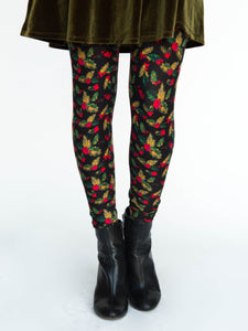 Holly & Berries Leggings