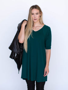 Love Tunic Hunter Green