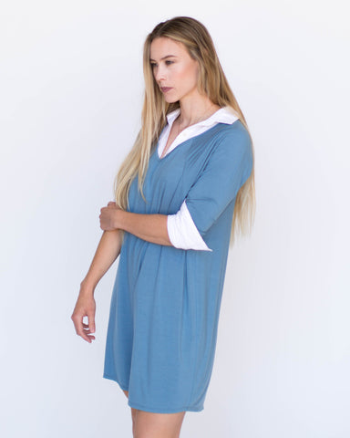 Love Tunic Light Blue