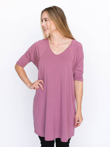 Love Tunic Mauve