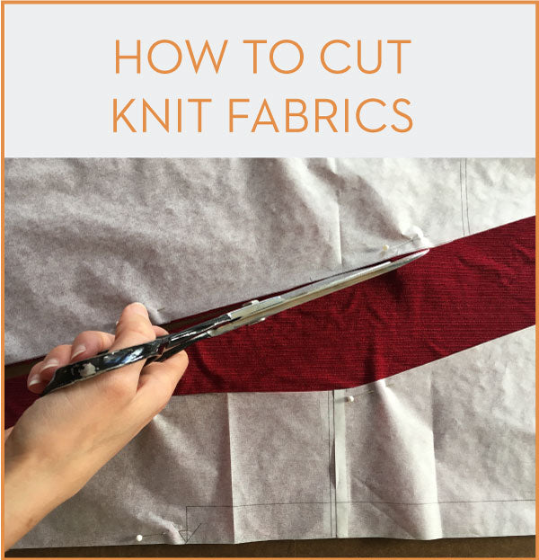 Jackie Sewalong How To Cut Knit Fabric Victory Patterns