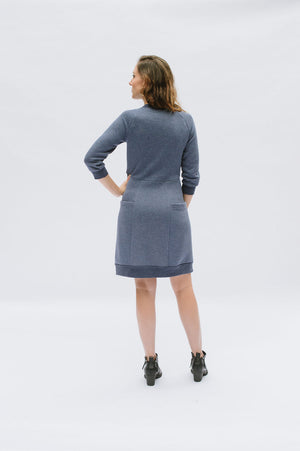 Sewing with Knits: Lola Dress - Victory Patterns
