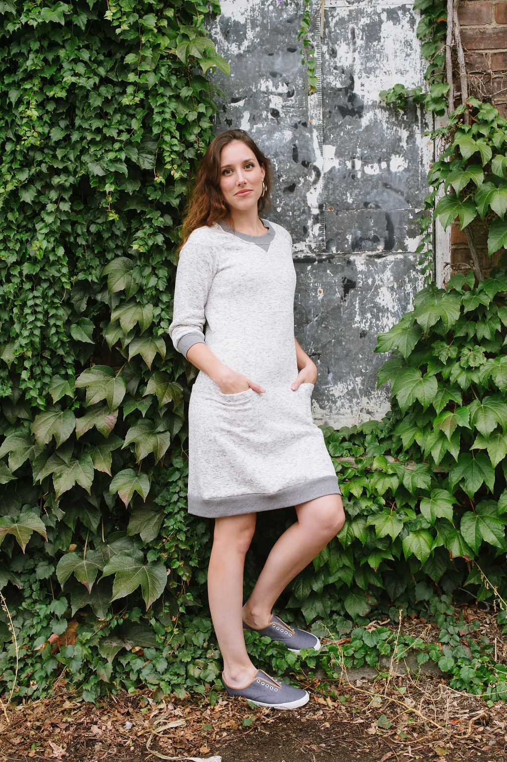 Lola Sweater Dress PDF - Victory Patterns