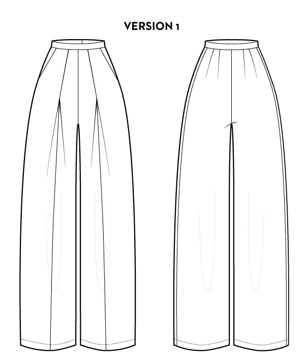 Esther Pants PDF - Victory Patterns