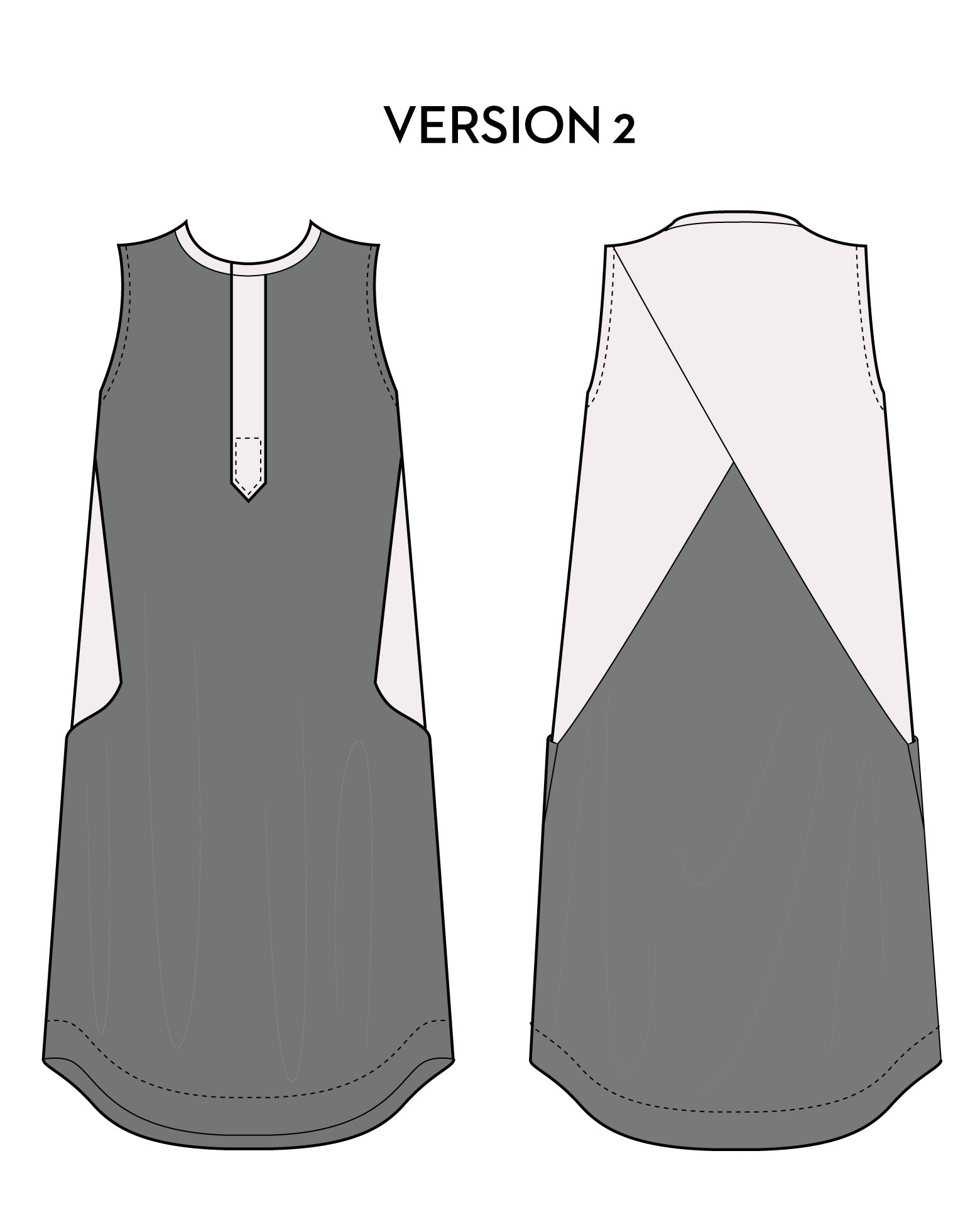 Hannah Dress PDF - Victory Patterns