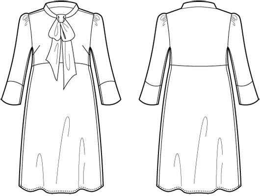 Hazel Dress PDF - Victory Patterns