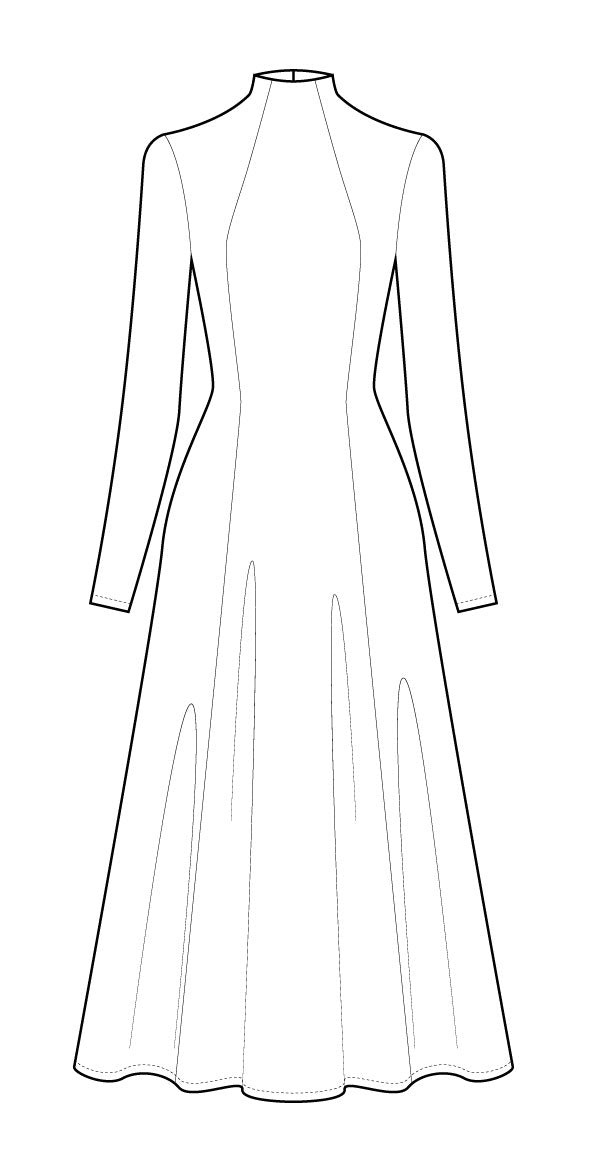 Jackie Dress PDF - Victory Patterns