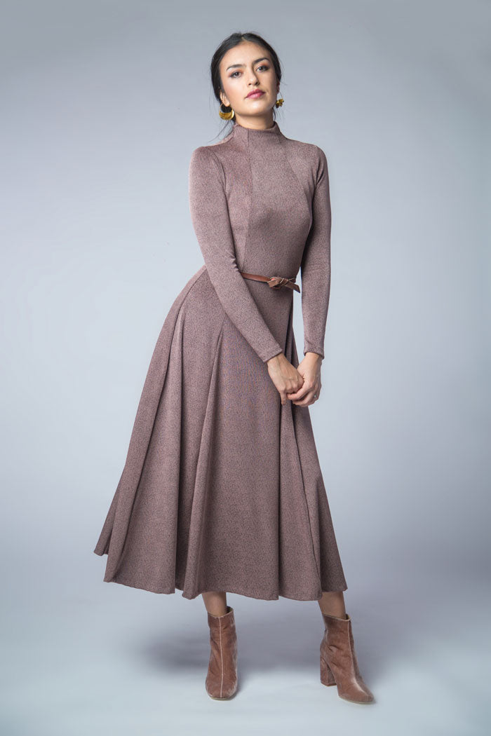 Jackie knit dress PDF sewing pattern