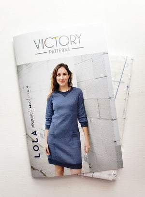 Sewing with Knits: Lola Dress intensive - Victory Patterns