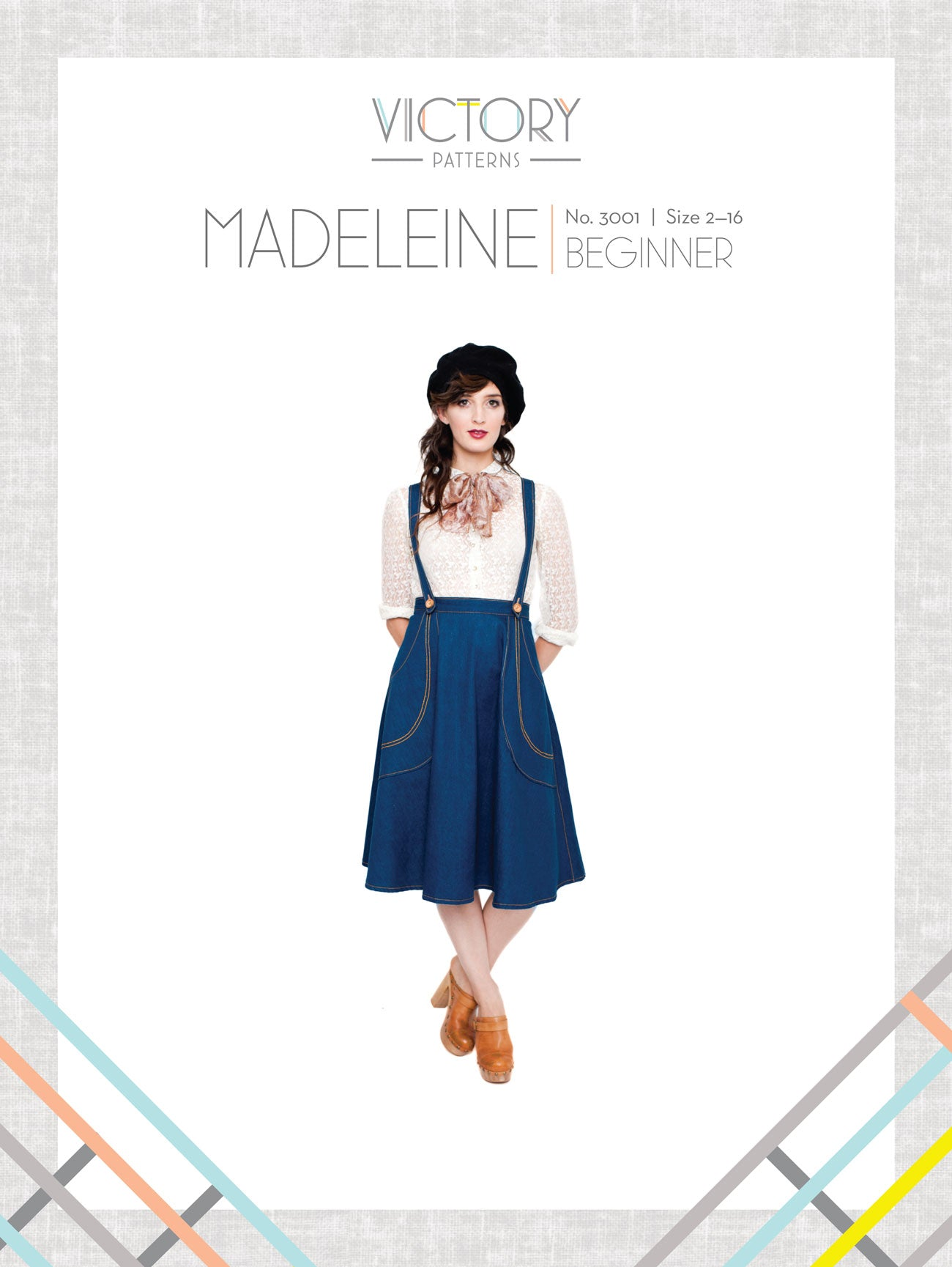 Madeleine - Paper - Victory Patterns