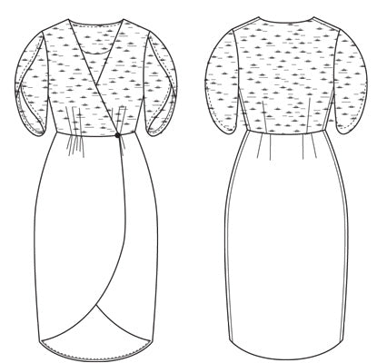 Nicola Dress & Blouse PDF - Victory Patterns