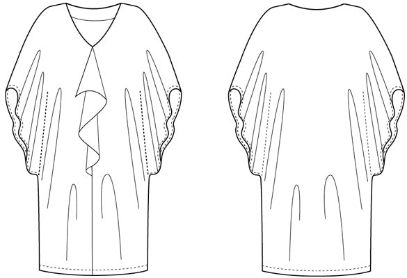 Satsuki Dress & Blouse - PDF - Victory Patterns