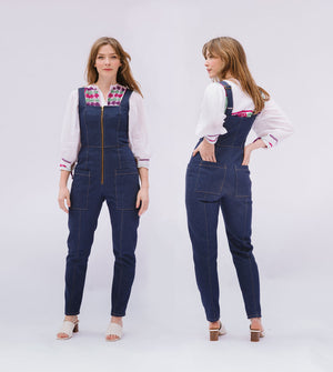 Sloane Overalls & Pants - PDF - Victory Patterns