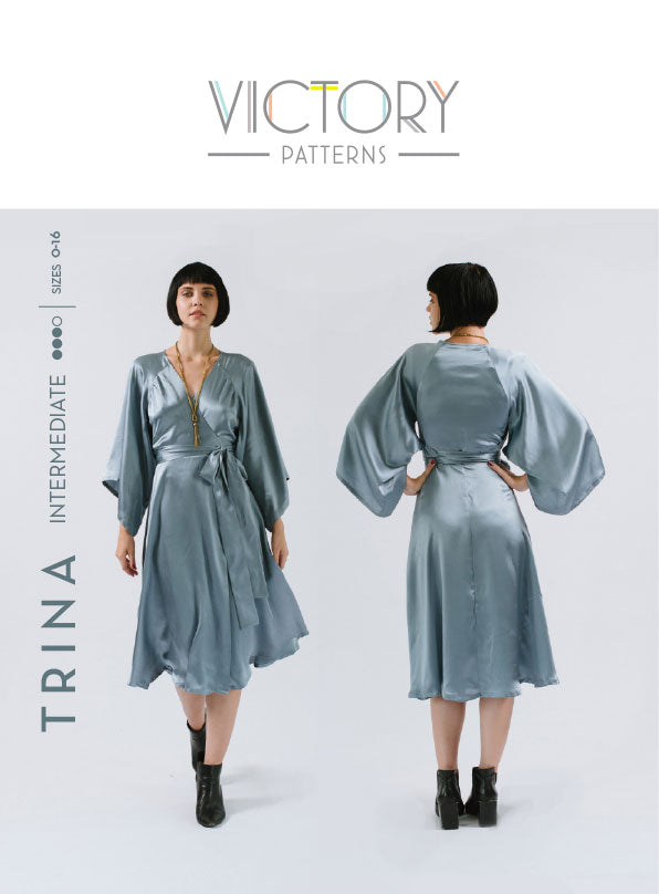 Trina Dress & Blouse PDF - Victory Patterns
