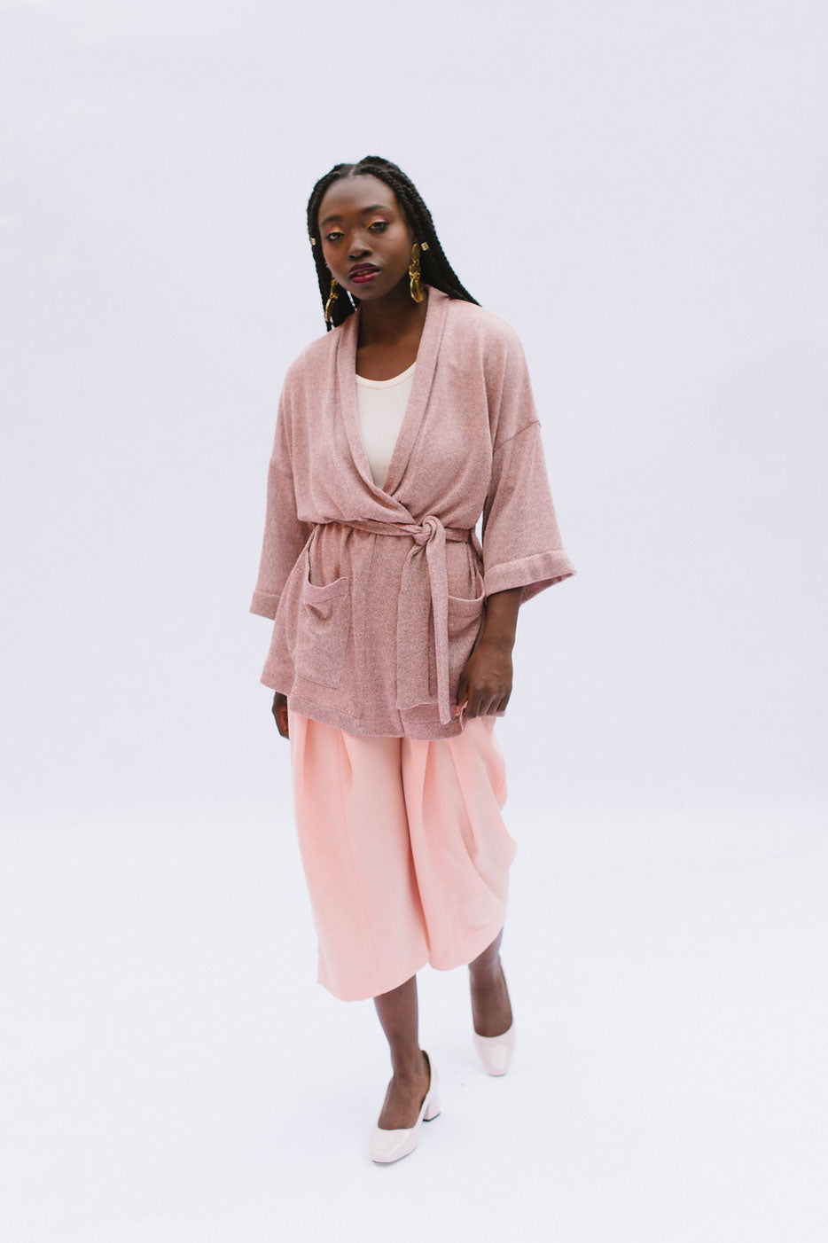Samara Robe & Cardigan PDF - Victory Patterns