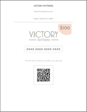 Gift Card (Digital) - Victory Patterns