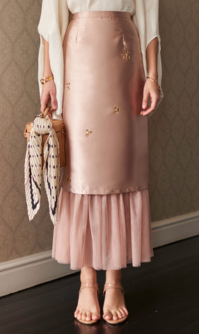 Ray Skirt in Blush