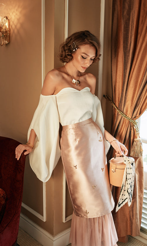 Milea Rose Gold Skirt