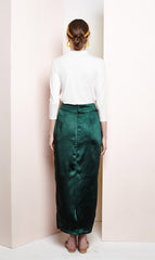 Iris Skirt in Emerald