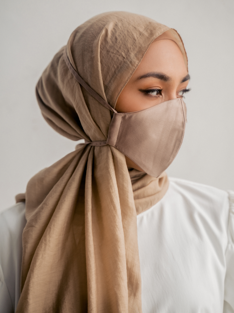 scarve nude color matching mask