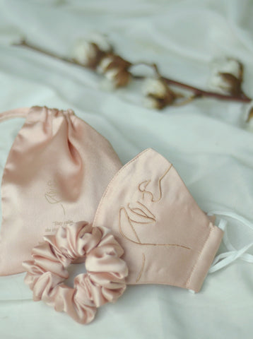 Reen Top in Soft Blush