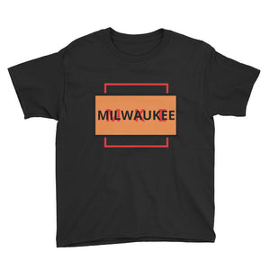 Youth Infrared Red MKE Short Sleeve T-Shirt