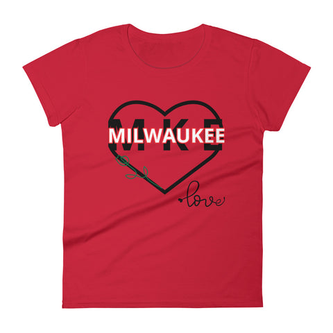 Women's MKE Short Tee (Valentine's Edition)
