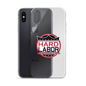 Hard Labor Logo iPhone Case