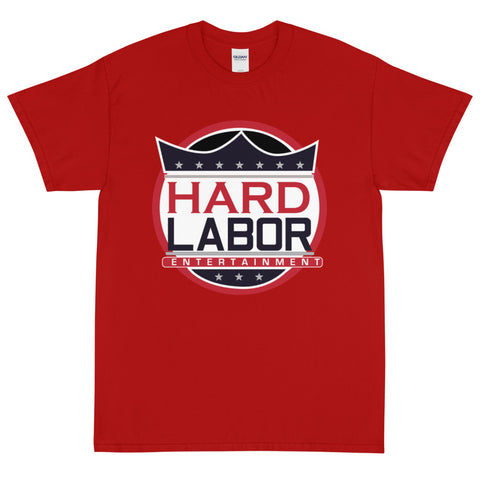 Hard Labor Red Short Sleeve T-Shirt
