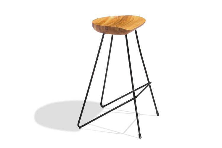Awesome 4 X Perch Stools Short Links Chair Design For Home Short Linksinfo