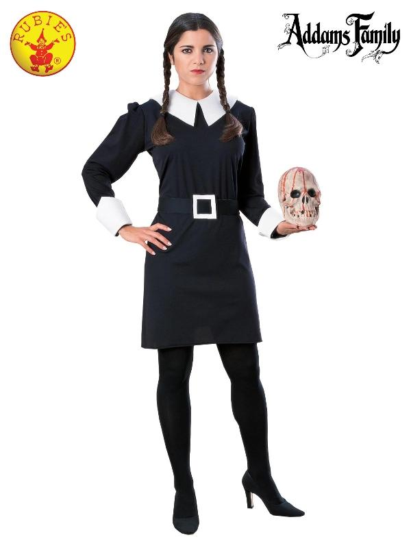 Wednesday Addams Deluxe Costume, Adult