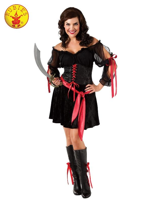 Pirate Siren Costume, Adult