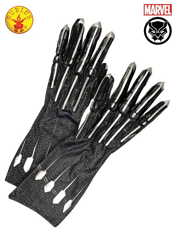 Black Panther Gloves - Adult