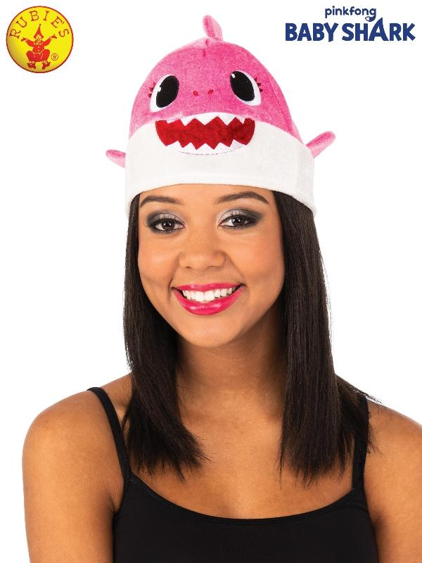 Mummy Shark Hat  - Pink