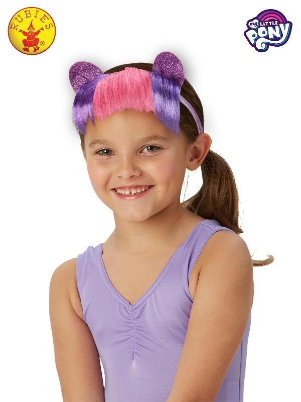 Twilight Sparkle Mlp Headband With Hair - Child