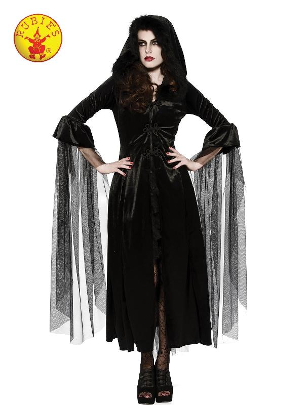 Mistress Of Midnight Costume, Adult