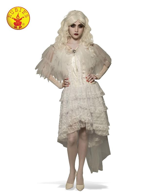 Witch Capelet White, Adult