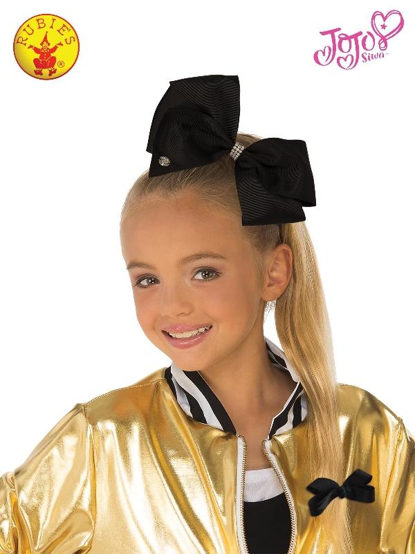 Jojo Siwa Black Hair Bow, Child