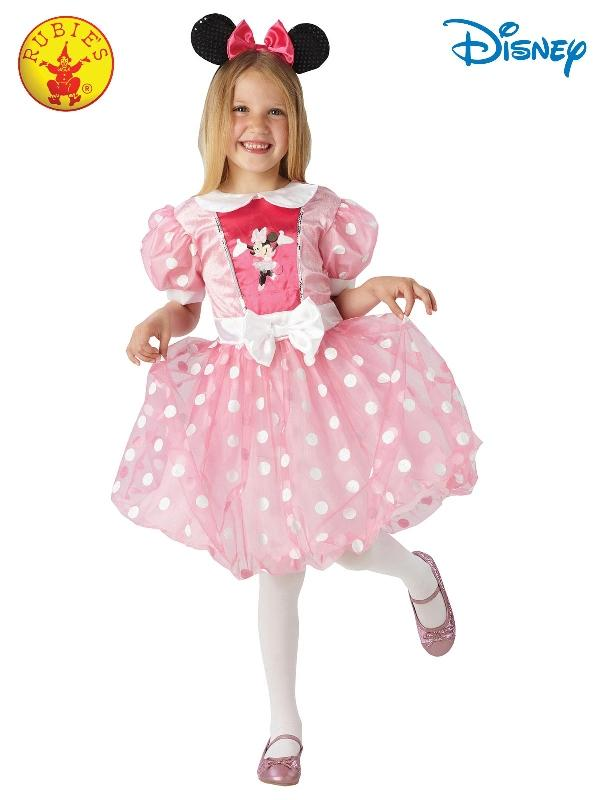 Minnie Mouse Pink Glitz Costume, Child