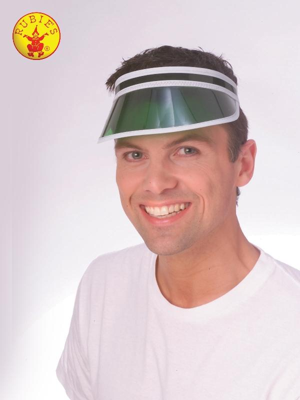 Green Eye Shade Hat  - Adult
