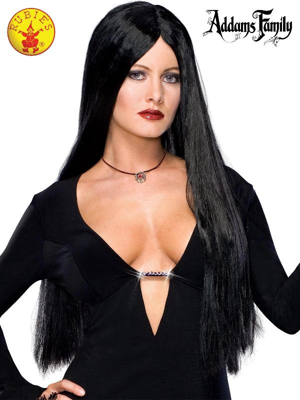 Morticia Deluxe Wig - Adult