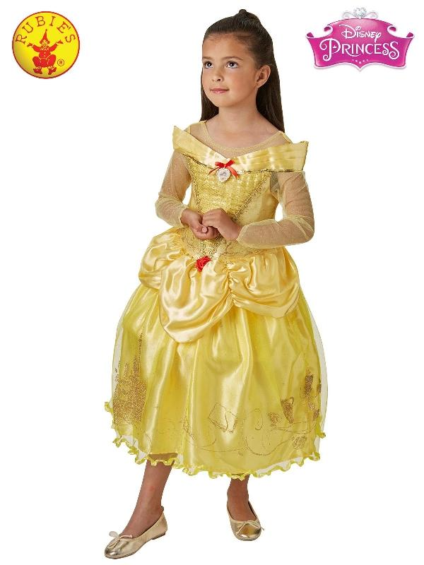 Belle And The Beast Deluxe Ballgown, Child